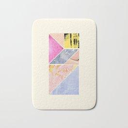 Collaged Tangram Alphabet - I Bath Mat