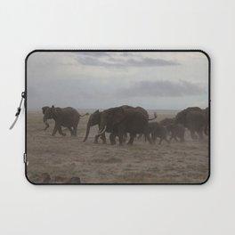 Elephant Stampede Laptop Sleeve