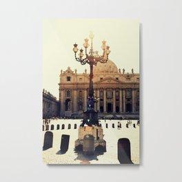 BASILICA DI SAN PIETRO Metal Print