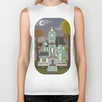 house Biker Tanks featuring House by Fran Court