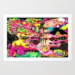canyon phase Art Print