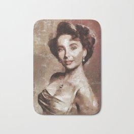 Elizabeth Taylor by Mary Bassett Bath Mat