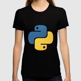 Python Official Logo Scripting Programming Language T-shirt