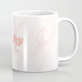 peachy blush marble Coffee Mug