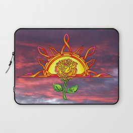 Tudor's Sunrise Laptop Sleeve