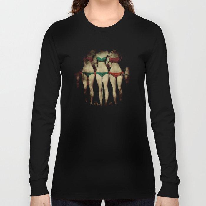 Bikini Peepshow Long Sleeve T-shirt
