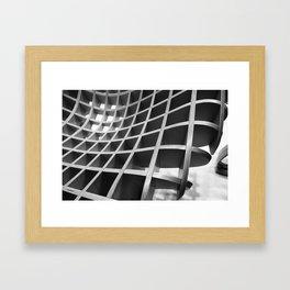 Functional Geometry Framed Art Print