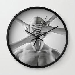 Speak no evil Wall Clock