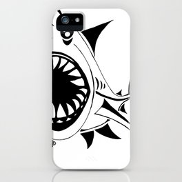 Megalodon iPhone Case