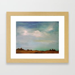 Wide Open Spaces Framed Art Print