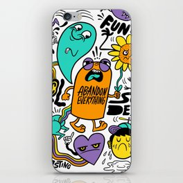 Fun & Cool iPhone Skin