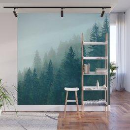 Evergreens Wall Mural