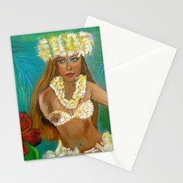 Tropical Hula Stationery Cards