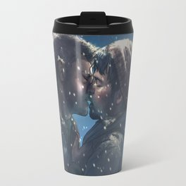 Winter Destiel Travel Mug