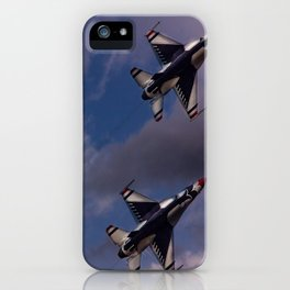 USAF Thunderbirds In Diamond Formation iPhone Case