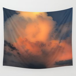 Cloud Combustion Wall Tapestry