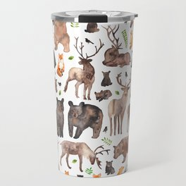 Woodland Animals Travel Mug