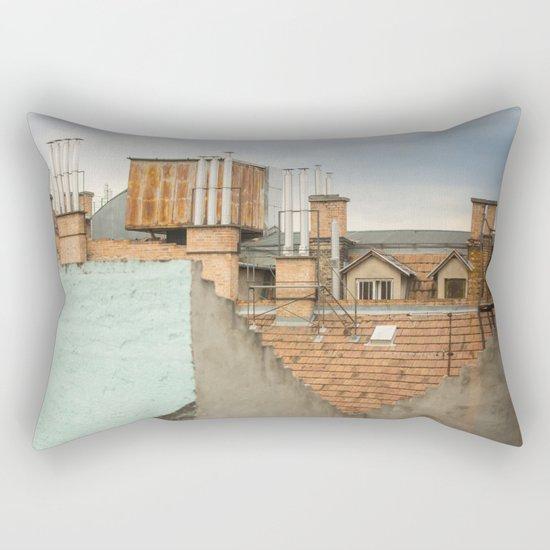 Roof Budapest Rectangular Pillow