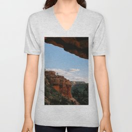 Sedona Sights From Under A Natural Arch Unisex V-Neck