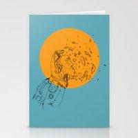 third eye Stationery Cards featuring Third Eye by Matt Smith