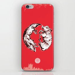 Chasing Wolves iPhone Skin