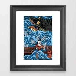 Gathering Ghosts (After Kuniyoshi) Framed Art Print