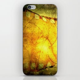Innermost Thoughts iPhone Skin