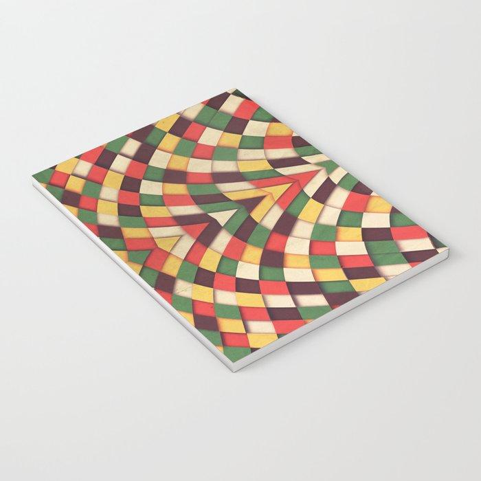Rastafarian Tile Notebook