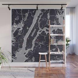 New York City Monochrome Wall Mural