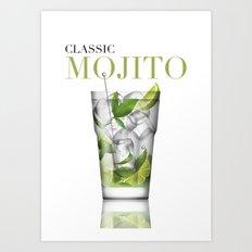 Mojito Art Print