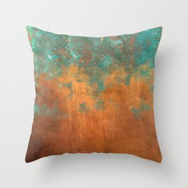 Green conquers all Throw Pillow