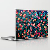 tulips Laptop & iPad Skins featuring Tulips by Madison Webb