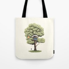Tyre Swing Tote Bag
