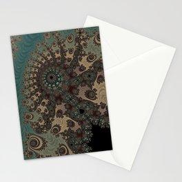 Bohemian Fantasy - Fractal Art Stationery Cards