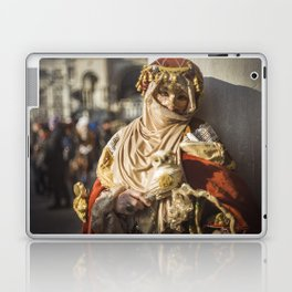 Middle eastern carnival mask in Venice (Italy) Laptop & iPad Skin