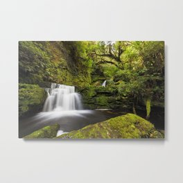 Waterfall magic in the Rainforest Metal Print