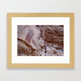 Moqui Queen Rock Art Framed Art Print