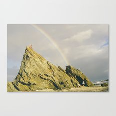 Chasing Rainbow Canvas Print