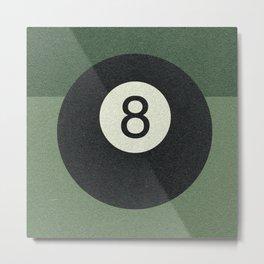 eightball Metal Print