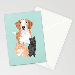 Henry Margot and Sushi Stationery Cards