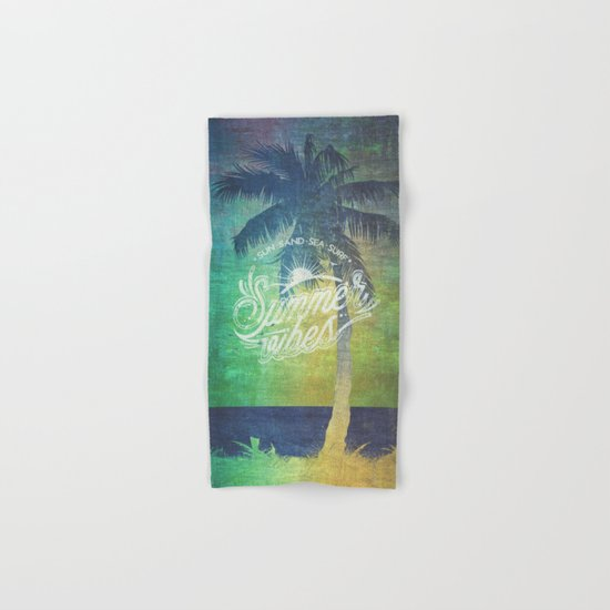 Summer vibes - Mashup edition Hand & Bath Towel