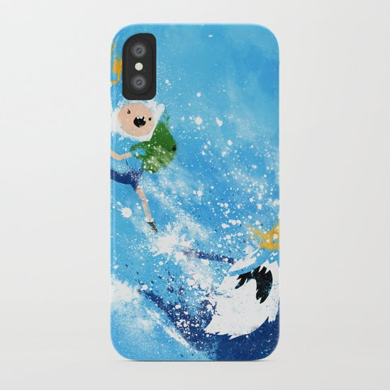 Battle Time!! iPhone Case