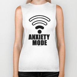 Anxiety mode Biker Tank