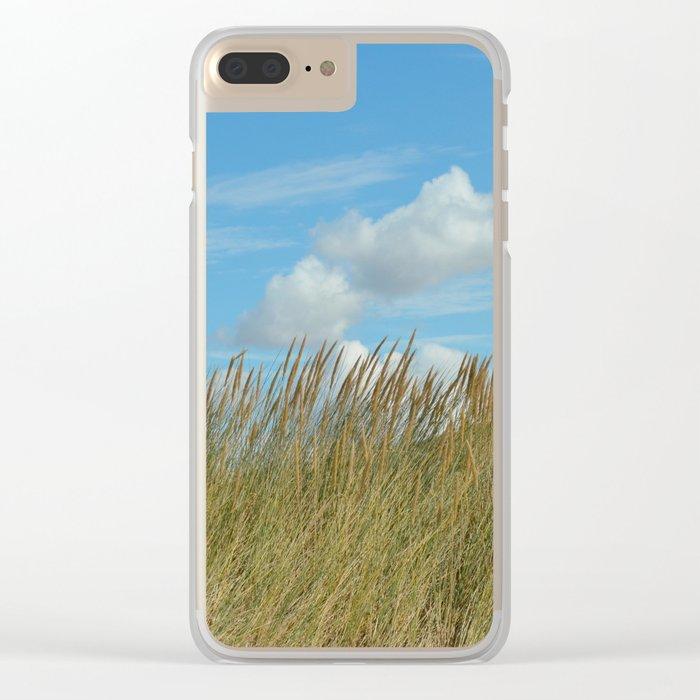 Dune du Touquet, France Clear iPhone Case