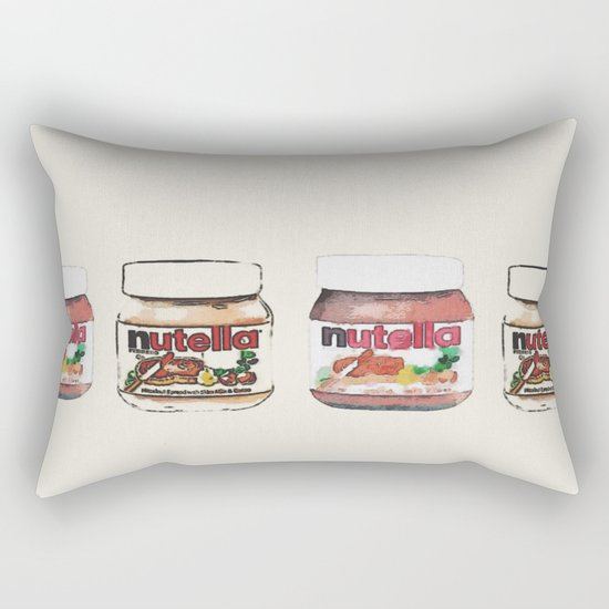 nutella-328 Rectangular Pillow