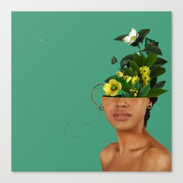 Lady Flowers VII Canvas Print