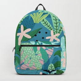 Into the jungle - twilight Backpack