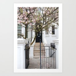Doors of Notting Hill Art Print