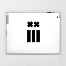Ex and Stripes Laptop & iPad Skin