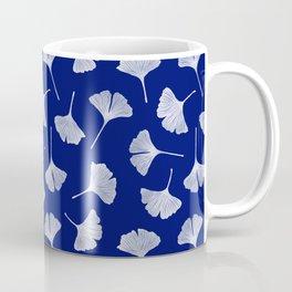 Ginkgo Biloba | Blue Background Coffee Mug